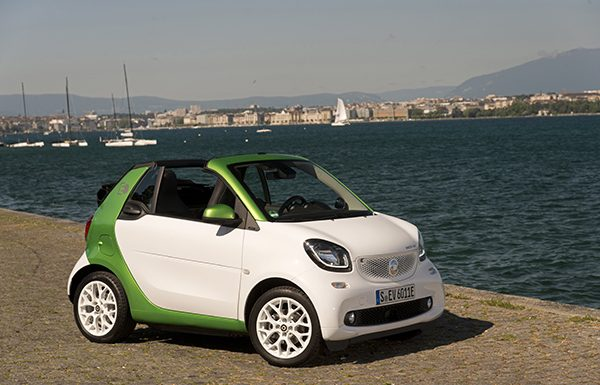 NUEVO SMART FORTWO CABRIO ELECTRIC DRIVE