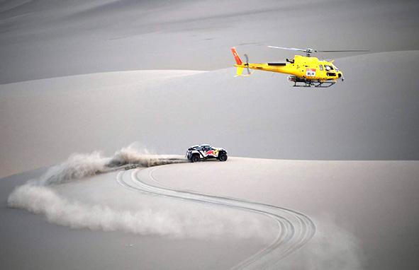 Carlos Sainz consigue la victoria en la edición 40 del Dakar