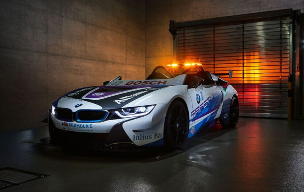 BMW I8 ROADSTER, SAFETY CAR DE LA FÓRMULA E
